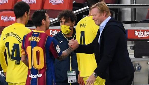 Lionel Messi acaba contrato con el Barcelona el 30 de junio de 2020. (Foto: AFP)