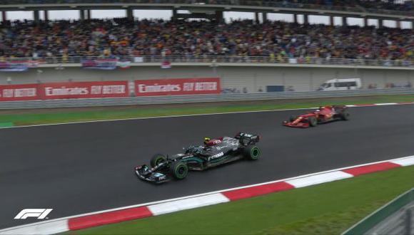 Valtteri Bottas se lleva el Gran Premio de Turquía de inicio a fin. (Foto: F1)
