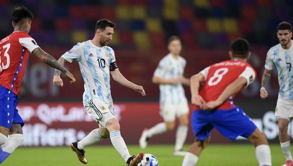 Chile Vs Argentina 1 1 Goles Crónica Y Partido En Santiago Del Estero Por Las Eliminatorias Qatar 2022 Futbol Internacional Depor