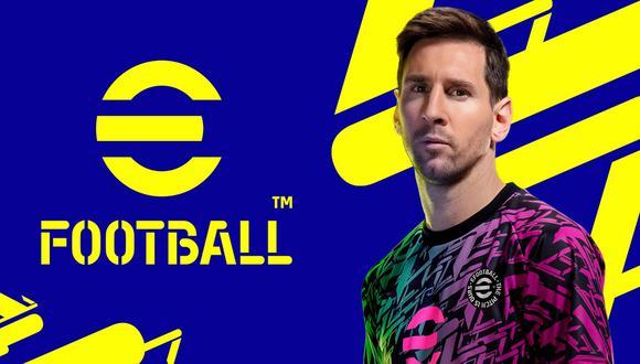 """""""eFootball"""", el nuevo PES, contará con solo nueve equipos en su versión gratuita. (Foto: KONAMI)"""