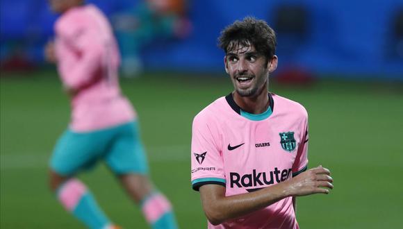 El portugués Trincao llegó al Barcelona en la temporada 2020-21. (Foto: AP)