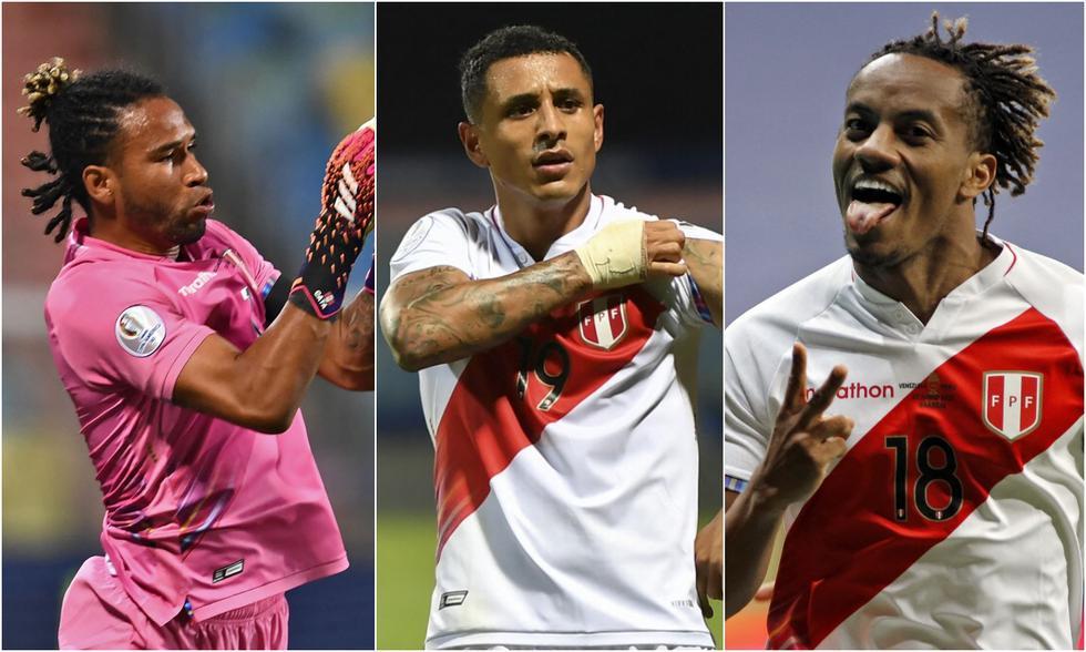 Gallese, Yotún y Carrillo han sumado más minutos en el año con la Blanquirroja. (Fotos: Agencias)