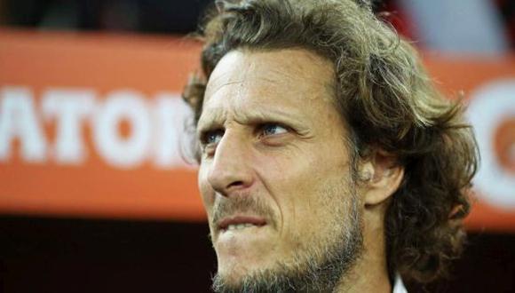 Diego Forlán ha dirigido en total 23 partidos durante su etapa como entrenador entre Peñarol y Atenas. (Foto: Getty)