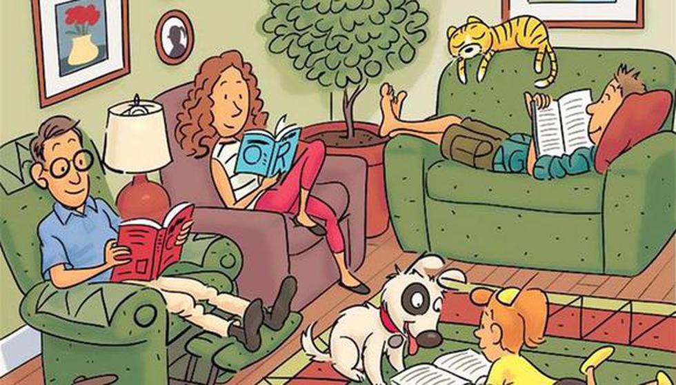 Encuentra las palabras en inglés escondidas en la imagen de este reto. (Pinterest)