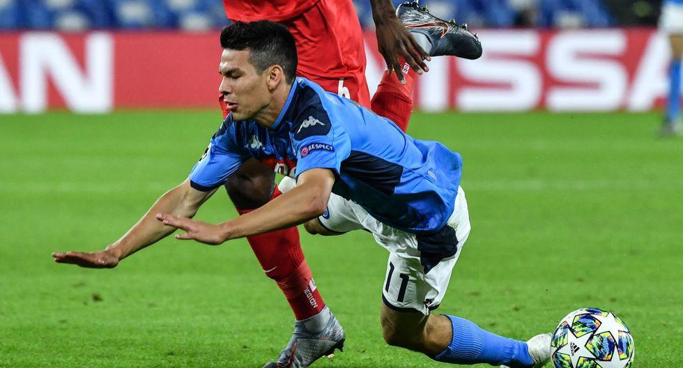 Chucky Lozano no está atravesando su mejor momento en Napoli desde que llegó Gatusso. (Foto: AFP)