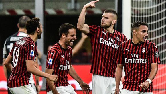 AC Milan vs. Juventus en San Siro por la Serie A de Italia. (Foto: AFP)