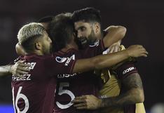 Lanús goleó 3-0 a Vélez Sarsfield y clasificó a la final de la Copa Sudamericana 2020