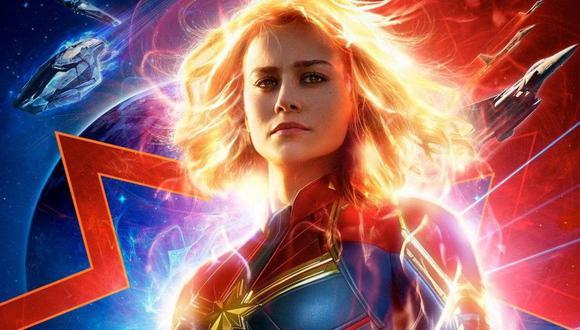 Brie Larson como Capitana Marvel (Marvel)