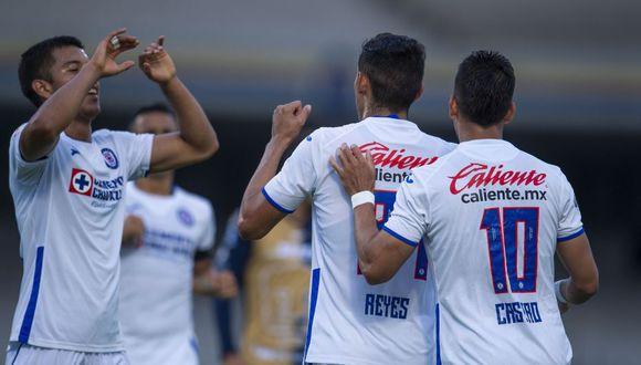 Cruz Azul y Pumas por la Copa GNP de México. (Foto: Agencias)