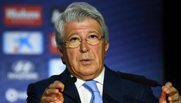 Enrique Cerezo es el actual presidente del Atlético de Madrid. (Foto: Getty Images)