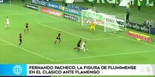 Hinchas piden titularidad de Fernando Pacheco en Fluminense