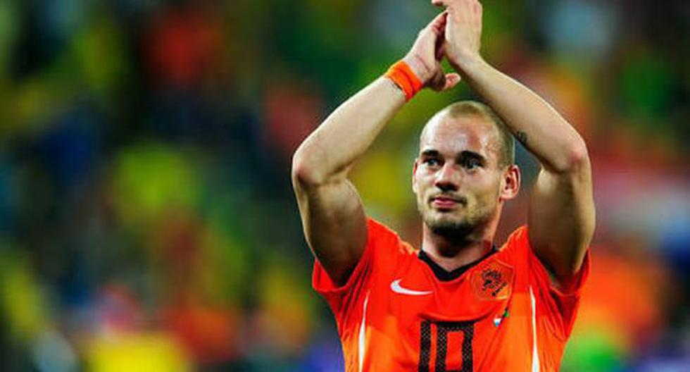 Wesley Sneijder  ganó la Champions League con Inter y fue campeón del Mundial de Clubes. (Foto: Agencias)