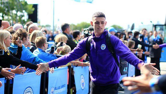 Phil Foden solo ha jugado 10 minutos esta temporada en la Premier League. (Getty Images)