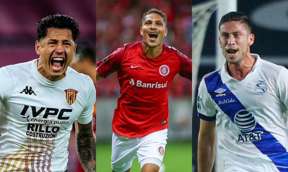 Jugadores peruanos que rompieron las redes en el extranjero el 2021. (Foto: Agencias)