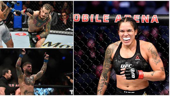 UFC reveló la cartelera completa de su próximo evento para el 6 de junio en Las Vegas. (Getty Images)