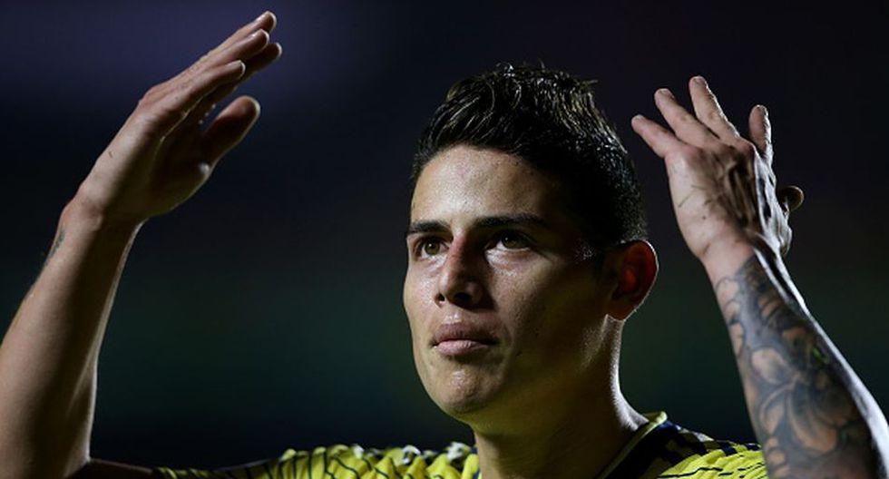 James Rodríguez llegó al Real Madrid en la temporada 2014. (Getty)