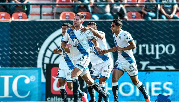 Puebla vs. Atlético San Luis se vieron las caras este sábado por la jornada 15 de la Liga MX 2021 (Foto: @ClubPueblaMX)