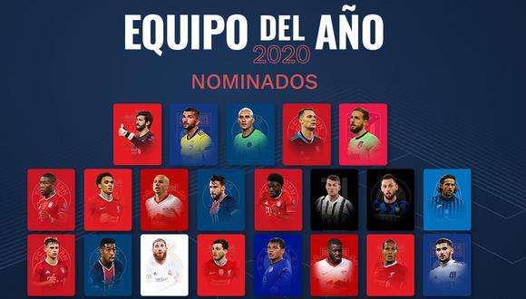 Bayern Munich es el equipo con más nominado al once ideal del año de la UEFA. (uefa.com)