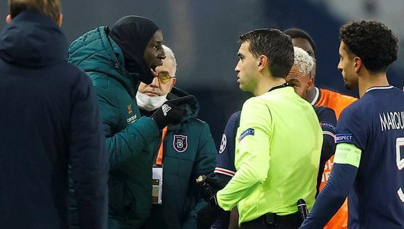 Pierre-Achille Webo fue víctima de racismo en el PSG vs. Istanbul por la Champions League. (Foto: AFP)