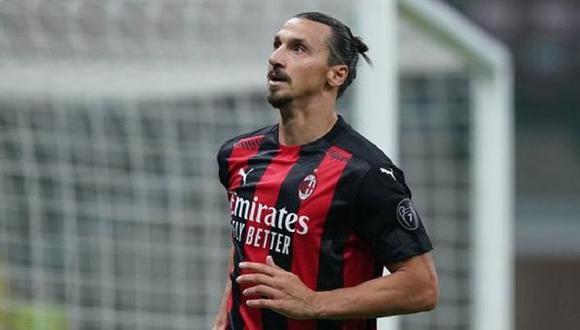 Zlatan Ibrahimovic tiene contrato con el AC Milan hasta junio del 2021. (Foto: Milan)