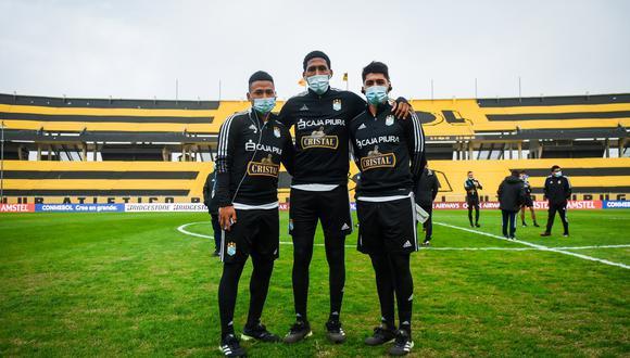 Sporting Cristal perdió en el duelo de ida por 1-3 ante Peñarol. (Foto: Club Sporting Cristal)