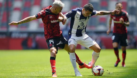 Toluca vs. Monterrey se vieron las caras este domingo por la jornada 14 de la Liga MX 2021 (Foto: @TolucaFC)