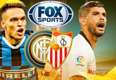 Mira canal FOX Sports EN VIVO con la final de Europa League, Sevilla-Inter