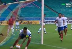 El segundo en 20 minutos: Gregore marcó gol de cabeza y Bahia ya le gana 2-0 a Melgar [VIDEO]