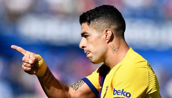 No está Messi pero sí Suárez: Barcelona venció a Getafe en el Coliseum Alfonso Pérez por Liga Santander. (Getty)