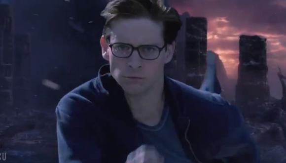 Spider-Man, de Tobey Maguire, en Vormir (Twitter)