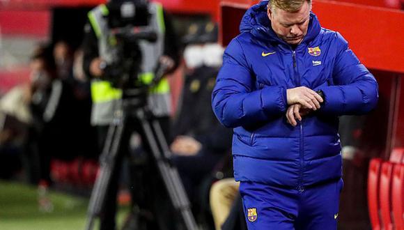 Ronald Koeman llegó al Barcelona en reemplazo de Quique Setién. (Foto: Getty Images)