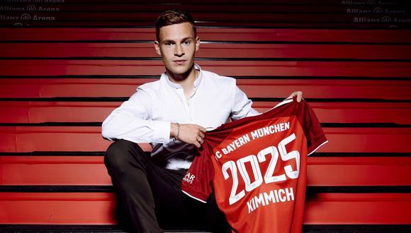 Joshua Kimmich tenía contrato en el Bayern hasta el 2023 y era pretendido por el Real Madrid. (Foto: FC Bayern)