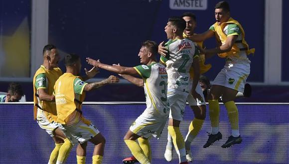 Defensa y Justicia venció a Lanús y es el nuevo campeón de la Copa Sudamericana. (AP)