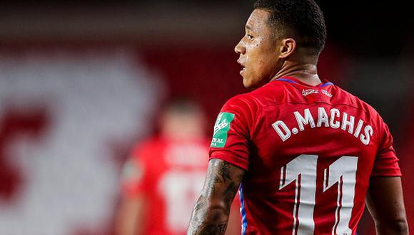 Darwin Machís tiene 28 años y juega como delantero en el Granada de LaLiga Santander. (Getty)