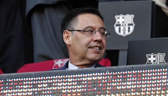 Josep María Bartomeu fue presidente del Barcelona hasta 2020. (Getty)