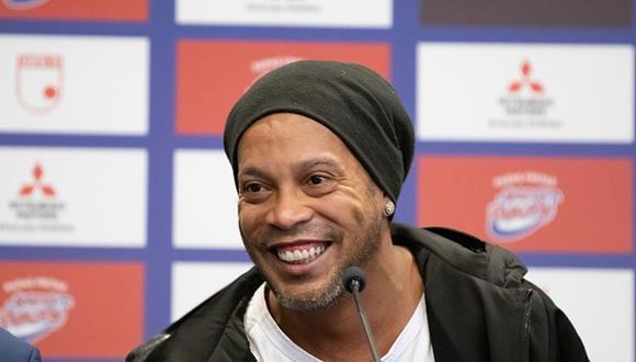 Ronaldinho ganó el Balón de Oro en el 2005 (Getty Images)