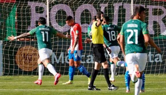Bolivia derrotó 4-0 a Paraguay en la Jornada 12 de las Eliminatorias Qatar 2022. (Foto: EFE)