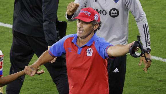 Troglio llegó al Olimpia en junio de 2019. (Foto: Reuters)