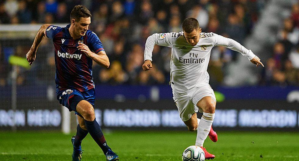 Eden Hazard había estado tres meses fuera de las canchas y ha recaído ante Levante. (Getty)