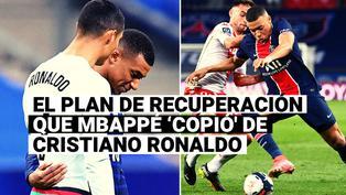 Para ser el mejor del mundo: el trabajo de recuperación que Mbappé 'copió' de Cristiano Ronaldo