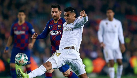 El Real Madrid vs. Barcelona por Laliga 2020 se jugará el 1 de marzo. (Foto: Getty Images)