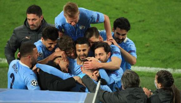 Manchester City, de la mano de Pep Guardiola, clasificó a las semifinales de la Champions League 2021. (Foto: Twitter)