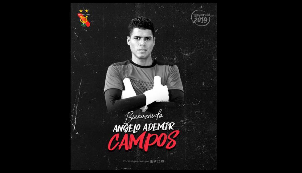 Fichajes 2019: Ángelo Campos dejó Alianza Lima y es nuevo jugador de Melgar