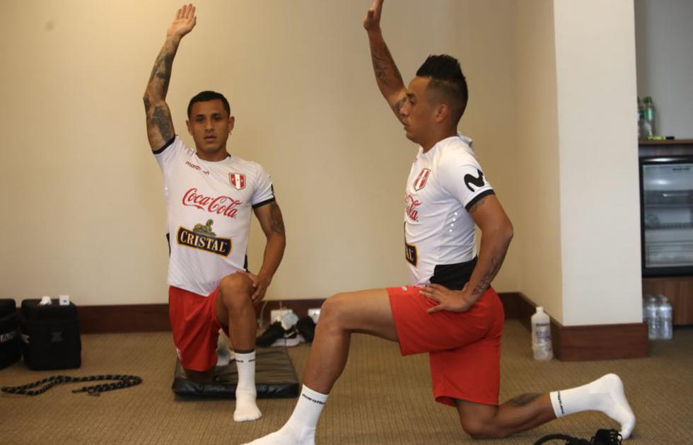 Selección Peruana realizó su entrenamiento con miras al partido con Colombia. (Foto: FPF)
