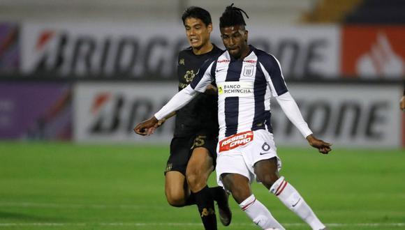 Alianza Lima vs. Racing Club por Copa Libertadores. (Foto: EFE)