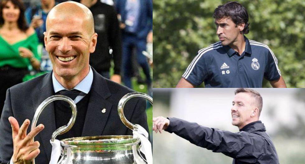 Real Madrid puso a Raúl como nuevo técnico del Castilla. (Fotos: Difusión)