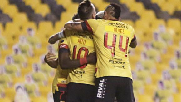 Barcelona lidera la Fase 2 de la Liga Pro Ecuador 2020.