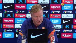 """Ronald Koeman: """"Hay cosas más importantes que las amenazas de la UEFA"""""""