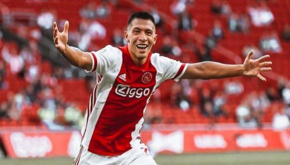 Lisandro Martínez no tiene pensado dejar el Ajax y está dispuesto a renovar con el club. (Foto: Getty)