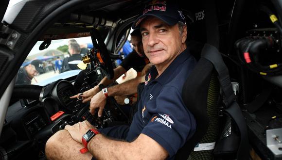 """Carlos Sainz, último ganador del Dakar, criticó a la organización: """"Esto es una gymkana más que un rally"""". (Foto: AFP)"""